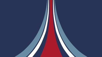 movimento abstrato geométrico linhas azuis e vermelhas, fundo esporte retrô