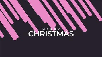 animação texto feliz natal em fundo preto fashion e minimalismo com listras