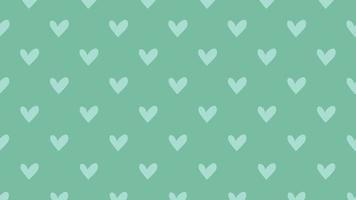 Valentines day shiny background. Animation romantic heart video