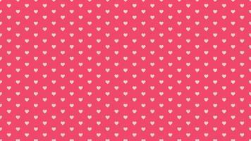fundo brilhante do dia dos namorados. animação coração romântico
