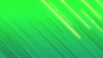 Motion abstract geometric green lines, retro background video