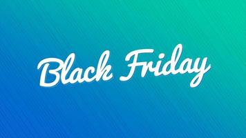 texte d'animation vendredi noir sur fond bleu mode et minimalisme avec des lignes de néon video