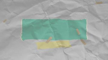 animação hipster branca e fundo de papel grunge video