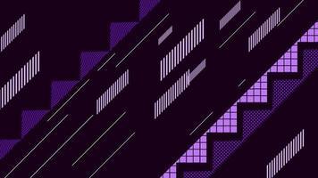 movimento formas geométricas abstratas, fundo colorido video