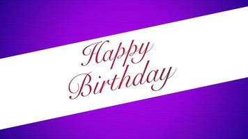 texto animado de feliz aniversário