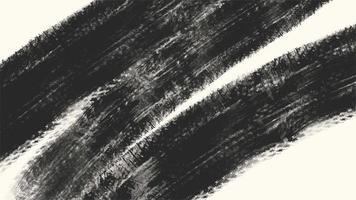 movimento pincéis pretos abstratos, fundo colorido do grunge