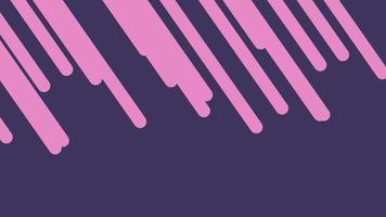 Bewegung Intro geometrische rosa Linien, abstrakter Hintergrund video