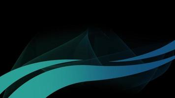 Motion intro geometric blue lines, abstract background video
