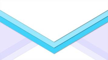 Motion intro geometric blue triangles, abstract background video