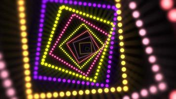 movimiento, colorido, neón, líneas, extracto, plano de fondo video