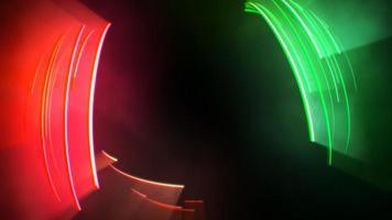 beweging kleurrijke cirkels duizeligheid, abstracte achtergrond video
