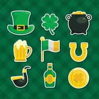 Set of St. Patrick's Day Element vector