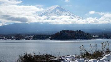 Timelapse of Mountain Fuji in Japan video