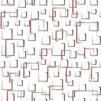 Abstract drawing repeat object pattern design vector