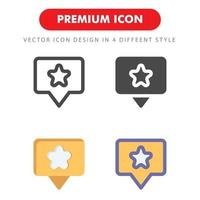 favourite icon pack isolated on white background. for your web site design, logo, app, UI. Vector graphics illustration and editable stroke. EPS 10.