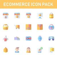 ecommerce icon pack isolated on white background. for your web site design, logo, app, UI. Vector graphics illustration and editable stroke. EPS 10.