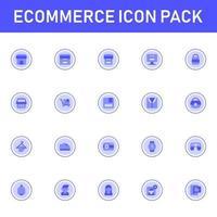 paquete de iconos de comercio electrónico aislado sobre fondo blanco. para el diseño de su sitio web, logotipo, aplicación, interfaz de usuario. Ilustración de gráficos vectoriales y trazo editable. eps 10. vector
