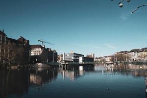 Cityscape of Zurich City, Switzerland photo