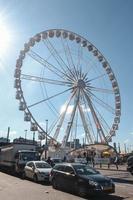 Ferris Wheel in Brussels, Belgium