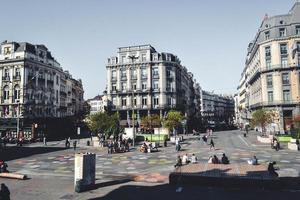 edificios en bruselas, bélgica