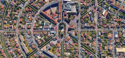 Aerial photo of Paris, France