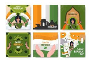 India Republic Day vector