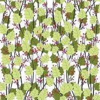 Abstract modern floral minimal and organic pattern design vector