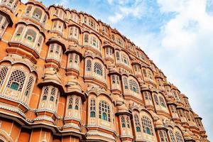 Hawa Mahal en un día soleado, Jaipur, Rajasthan, India foto