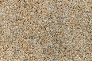 Mosaic of tiny gravel stones photo