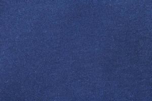Blue fabric texture photo
