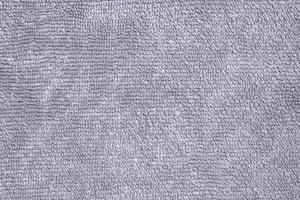 Close-up gray towel fabric photo