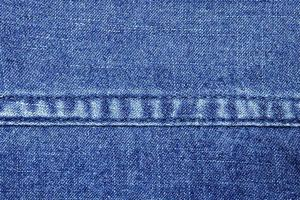 Close-up denim fabric photo