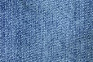 Close-up of denim fabric photo