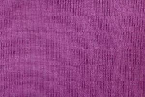Close-up purple fabric texture photo