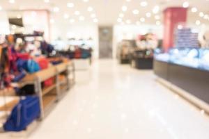 interior del centro comercial desenfocado abstracto