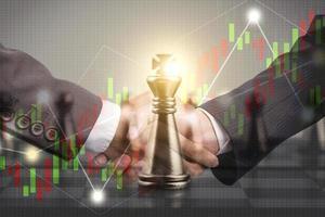Business strategic plan concept