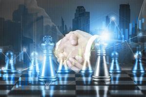 Successful strategic plan concept