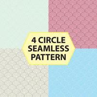 4 CIRCLE SEAMLESS PATTERN