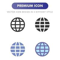 internet icon isolated on white background. for your web site design, logo, app, UI. Vector graphics illustration and editable stroke. EPS 10.