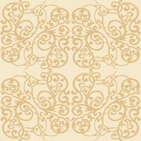 Floral Seamless Pattern Ornamental Background Decorative Wallpaper vector