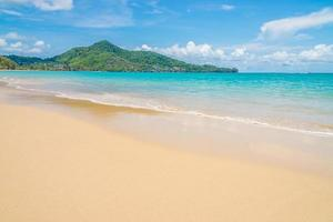 Beautiful tropical sea background photo
