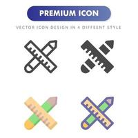 school material icon isolated on white background. for your web site design, logo, app, UI. Vector graphics illustration and editable stroke. EPS 10.
