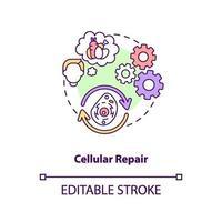 icono de concepto de reparación celular