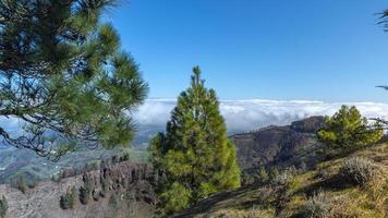 montañas de la isla de gran canaria foto