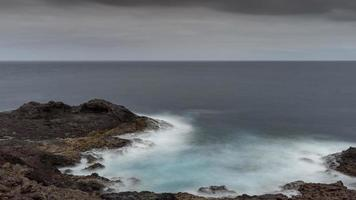Atlantic waves in the Canary Islands photo
