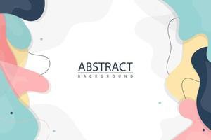 formas de fondo abstracto vector