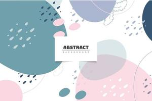 Abstract pastel background design vector