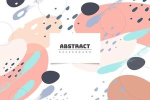 Abstract pastel background with warm colors vector