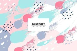 Colorful abstract pastel background vector