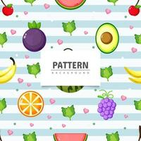 Healty food seamless pattern background vector
